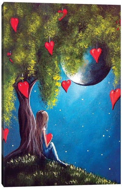 Under The Tree Of New Beginnings Canvas Art Print