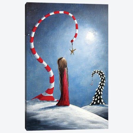 Wishing Star Canvas Print #MLP212} by Moonlight Art Parlour Canvas Art