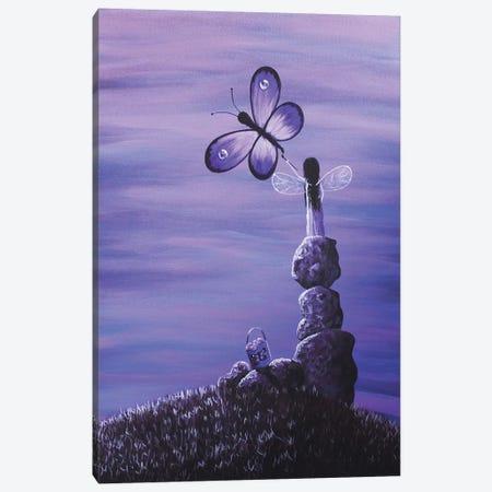 Amethyst Fairy Canvas Print #MLP25} by Moonlight Art Parlour Canvas Print