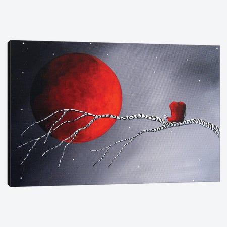 Beautiful Night Canvas Print #MLP33} by Moonlight Art Parlour Art Print