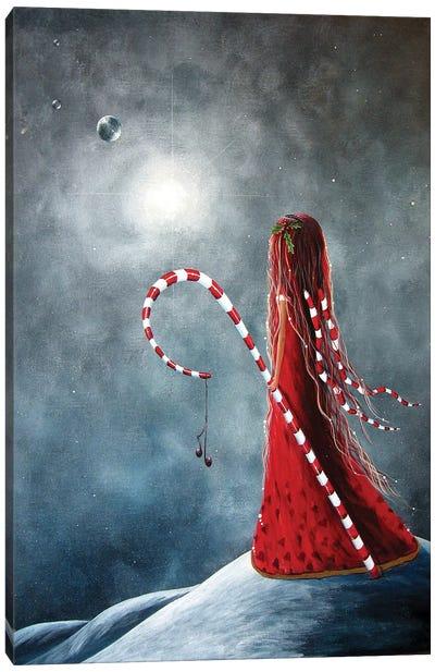 Candy Cane Fairy Canvas Art Print