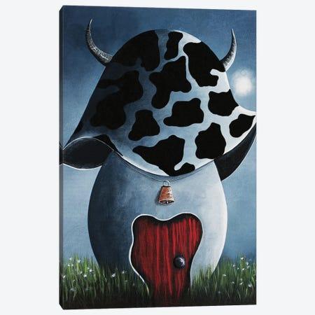 Cowboy House Canvas Print #MLP43} by Moonlight Art Parlour Canvas Artwork