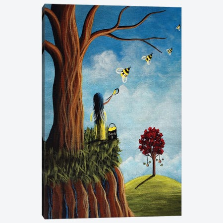 Creating Her Happy Place Canvas Print #MLP44} by Moonlight Art Parlour Canvas Print
