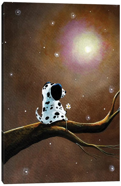 Darling Dalmatian Canvas Art Print