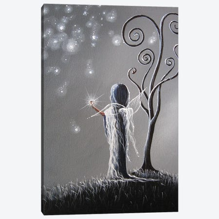 Diamond Fairy Canvas Print #MLP47} by Moonlight Art Parlour Canvas Art Print