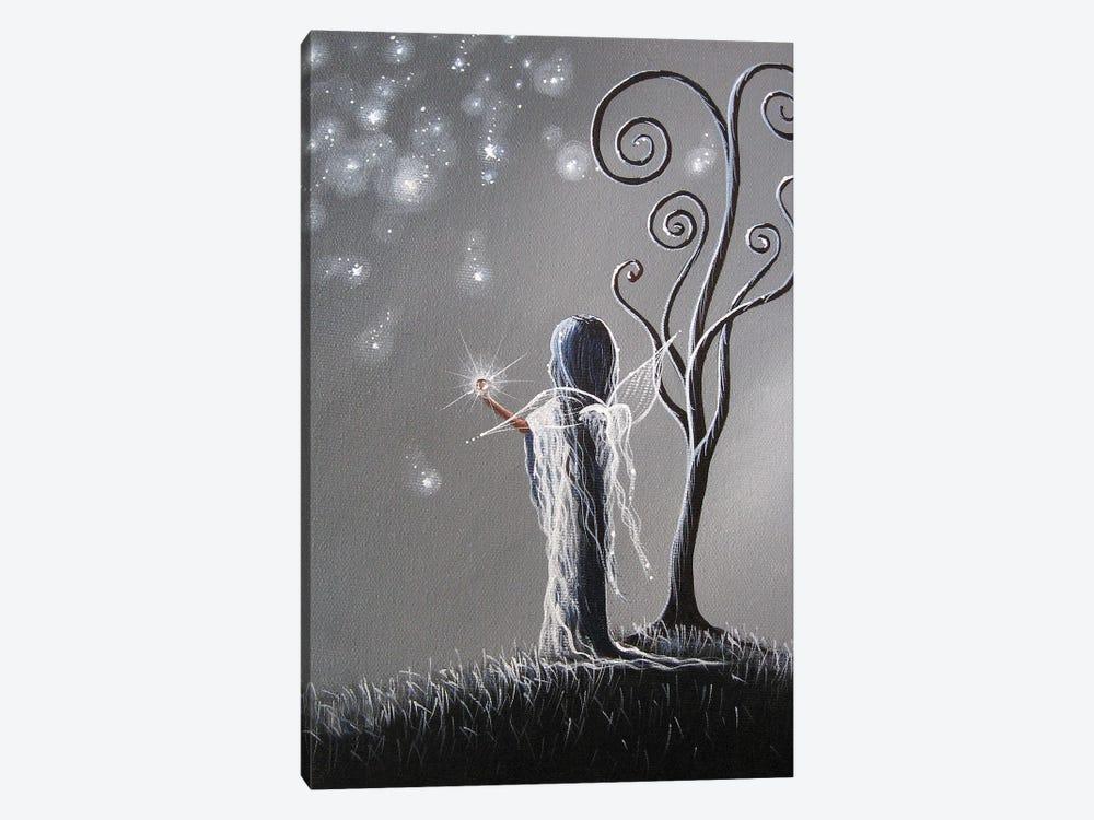 Diamond Fairy by Moonlight Art Parlour 1-piece Canvas Wall Art