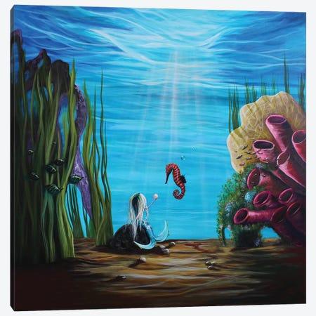 Enchantment Under The Sea Canvas Print #MLP54} by Moonlight Art Parlour Canvas Wall Art