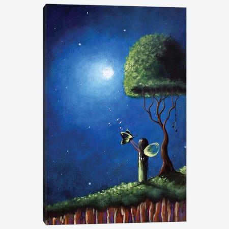 Fairy Wishes Canvas Print #MLP58} by Moonlight Art Parlour Canvas Art Print