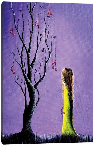 Five Wishes Left Canvas Art Print