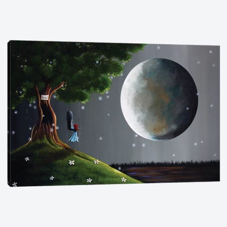 Happiness Is Just A Teardrop Away Canvas Print #MLP68} by Moonlight Art Parlour Canvas Art