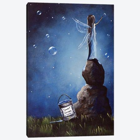 A Fairy's Nighttime Gift Canvas Print #MLP6} by Moonlight Art Parlour Canvas Artwork