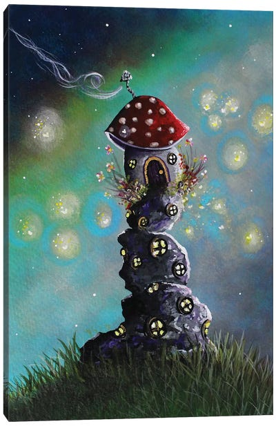 Home For The Night Canvas Art Print