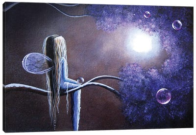 Hope Is On The Other Side Of Tears Canvas Art Print
