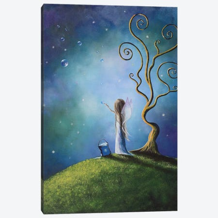 I Do Believe In Fairies Canvas Print #MLP82} by Moonlight Art Parlour Canvas Artwork
