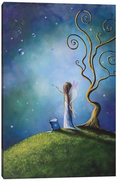 I Do Believe In Fairies Canvas Art Print