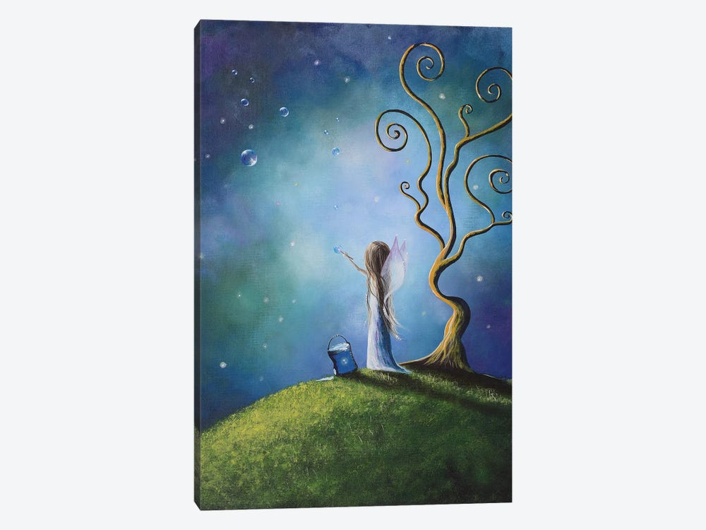 I Do Believe In Fairies by Moonlight Art Parlour 1-piece Canvas Print