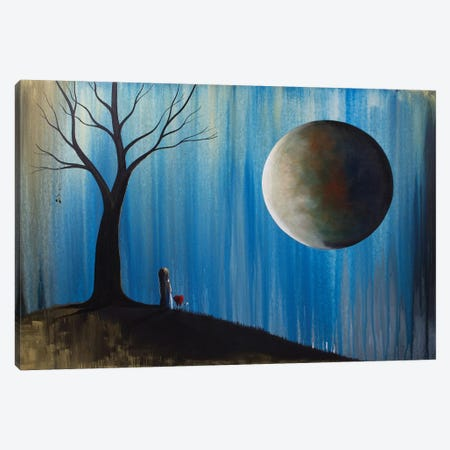 A Glimpse Of Our Forever Canvas Print #MLP8} by Moonlight Art Parlour Canvas Art Print