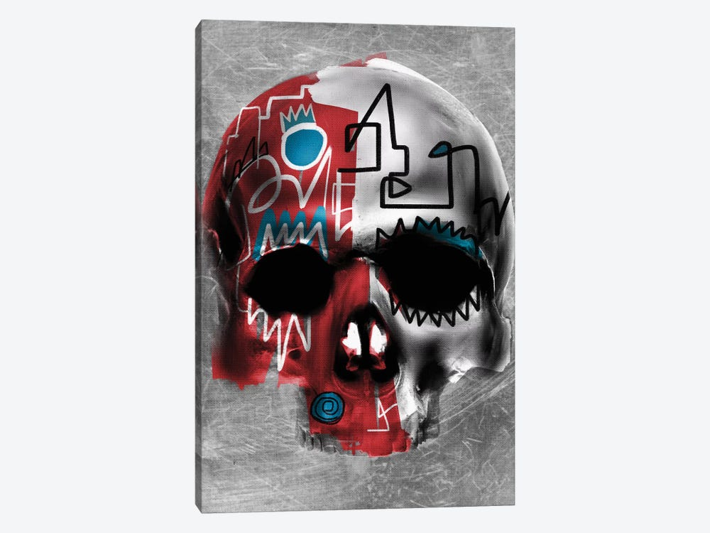 Copper Skull by Daniel Malta 1-piece Canvas Artwork