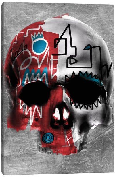 Copper Skull Canvas Art Print