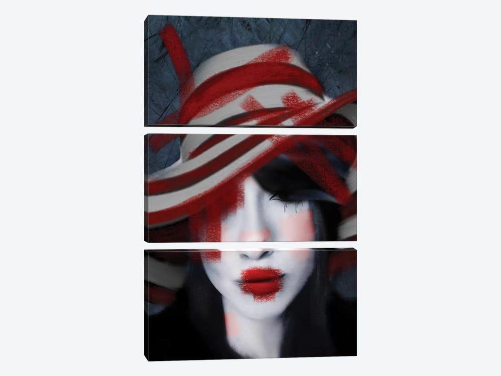 Hurt by Daniel Malta 3-piece Canvas Art