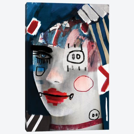 A Doll II Canvas Print #MLT1} by Daniel Malta Art Print