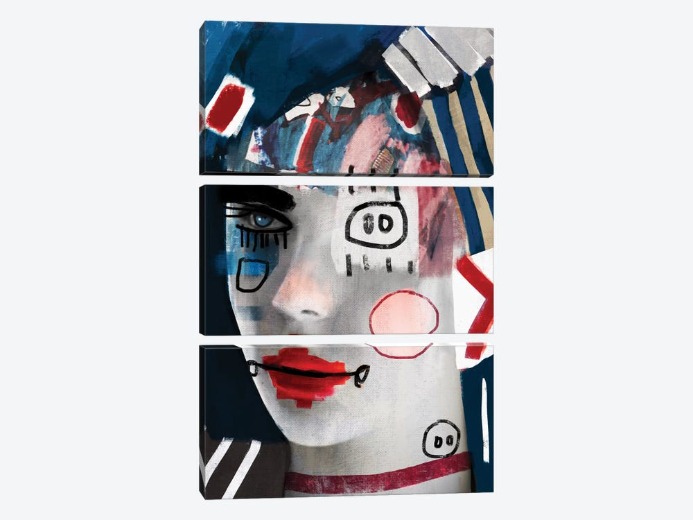 A Doll II by Daniel Malta 3-piece Art Print