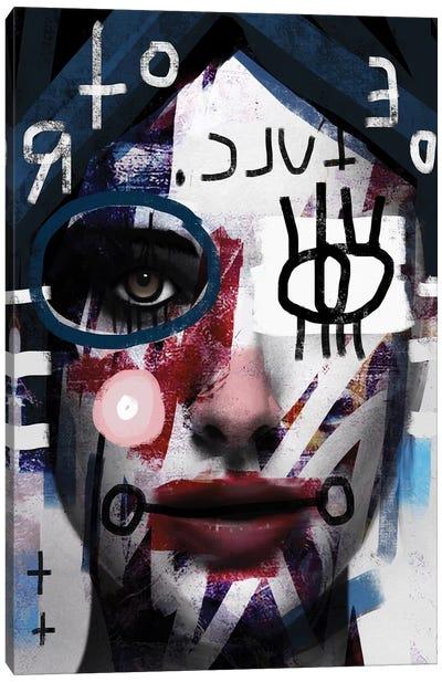 Language Canvas Art Print