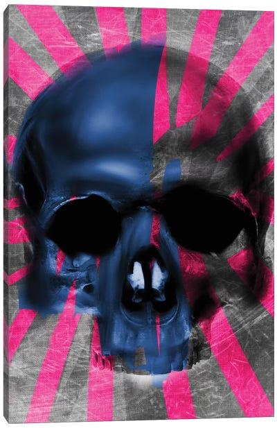 Pink Skull Canvas Art Print