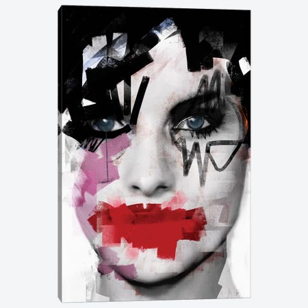 Purple Tears 3-Piece Canvas #MLT30} by Daniel Malta Art Print