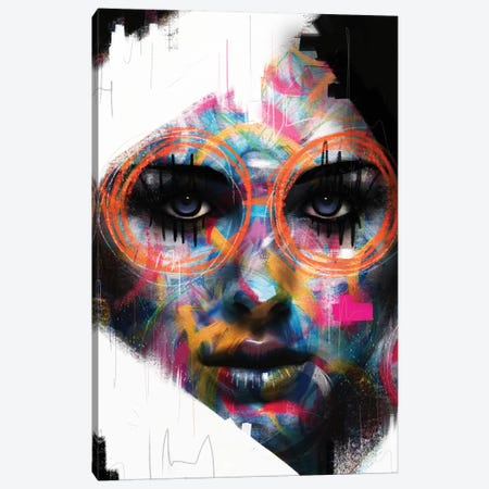 Soul Glasses Canvas Print #MLT39} by Daniel Malta Art Print
