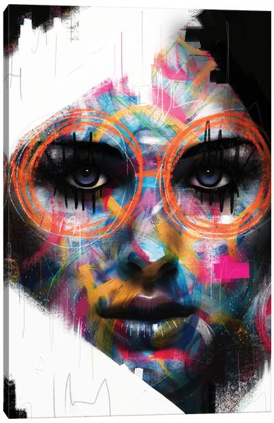 Soul Glasses Canvas Art Print