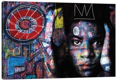 Basquiat´s Mind Canvas Art Print