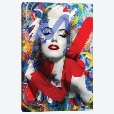 Sweet Marilyn Canvas Print #MLT41} by Daniel Malta Canvas Wall Art