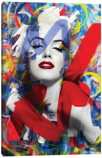 Sweet Marilyn Canvas Art Print