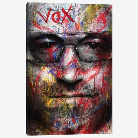 Vox Canvas Print #MLT42} by Daniel Malta Canvas Wall Art