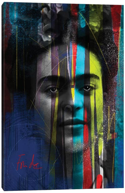 Warrior Frida Canvas Art Print