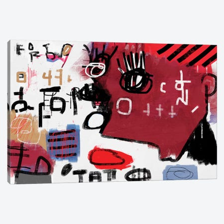 A Bite 3-Piece Canvas #MLT45} by Daniel Malta Canvas Print