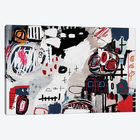 Defeat 3-Piece Canvas #MLT46} by Daniel Malta Canvas Print