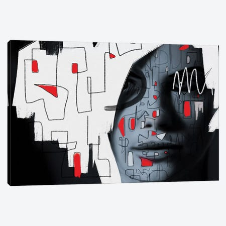 Labyrinth Canvas Print #MLT48} by Daniel Malta Canvas Art