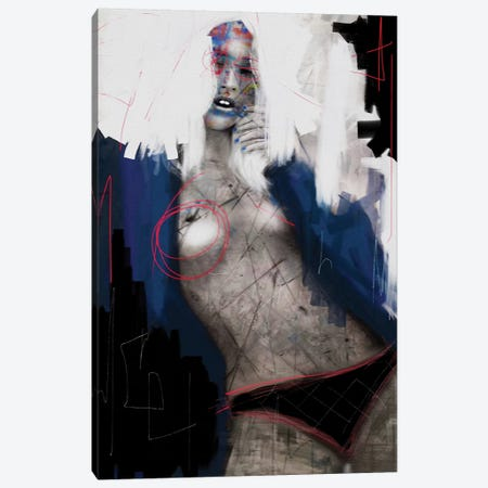 Liberty Canvas Print #MLT49} by Daniel Malta Canvas Art