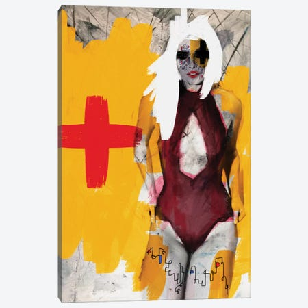 My Nurse Canvas Print #MLT51} by Daniel Malta Art Print