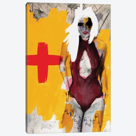 My Nurse Canvas Print #MLT51} by Daniel Malta Art Print