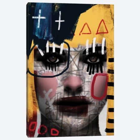 Carnival 3-Piece Canvas #MLT9} by Daniel Malta Canvas Print