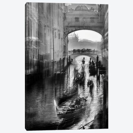 Bridge Of Venice I Canvas Print #MLV10} by Milan Malovrh Canvas Print