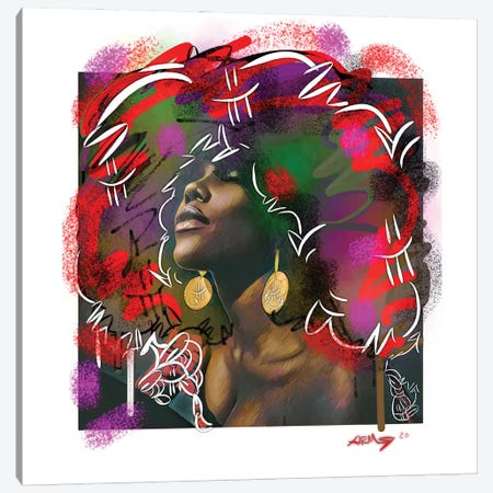 I Got Soul!!! Canvas Print #MLW11} by Arm Of Casso Canvas Art