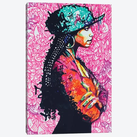 Janet Canvas Print #MLW14} by Arm Of Casso Canvas Print