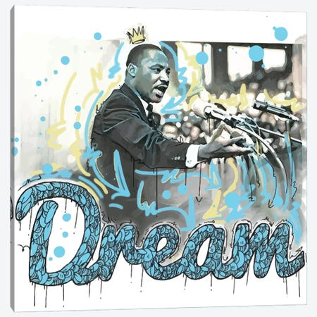 MLK Day Canvas Print #MLW27} by Arm Of Casso Canvas Art