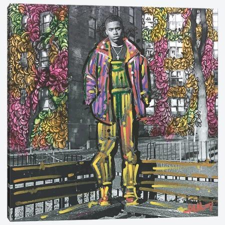 Nasir Jones Canvas Print #MLW30} by Arm Of Casso Canvas Art