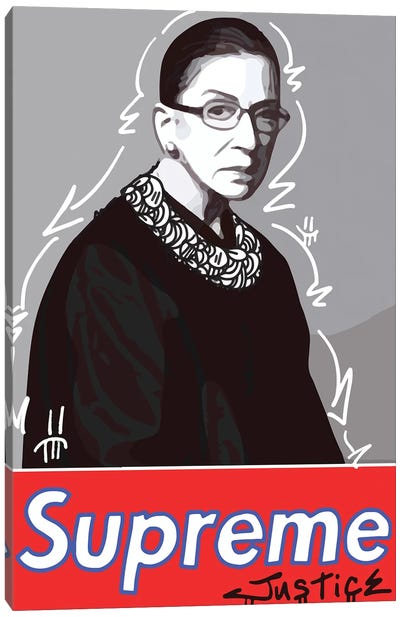 Supreme Justice Canvas Art Print