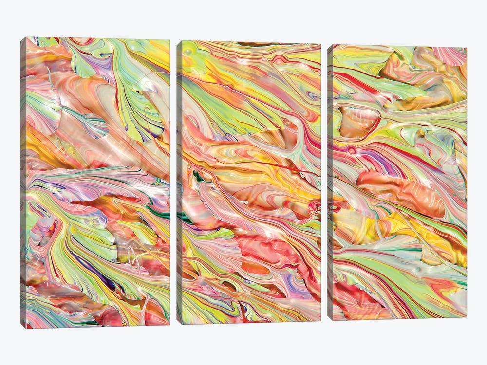Untitled 16 by Mark Lovejoy 3-piece Canvas Art